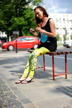 #FRIFRU to miejski szyk! #labelsshop #yellow #leggins #Warsaw