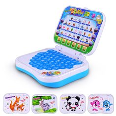 Kids Children's Educational learning machine toys Simulation laptop Touch Multi-function Chinese and English Computer Toys //Price: $19.00 & FREE Shipping //     #educationaltoysforkids