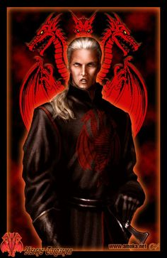 """Viserys Targaryen, the Beggar King, by Amok. """"My brother visited Pentos, Myr, Braavos, near all the Free Cities. The magisters and archons fed him wine and promises, but his soul was starved to death. A man cannot sup from the beggar's bowl all his life and stay a man."""""""