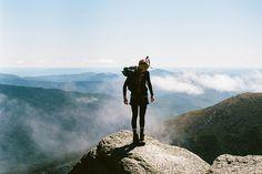 Adventure Women, Mount Washington Leica M6 | 35mm | Kodak Ektar | 100ASA By Fred Tougas