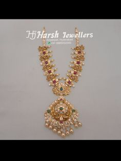 Jewelry OFF! Trending necklace designs from Harsh Jewellers Gold Jewelry Simple, Gold Wedding Jewelry, Gold Jewellery Design, Silver Jewellery, Jewlery, Schmuck Design, Jewelry Patterns, Necklace Designs, Pendant Jewelry