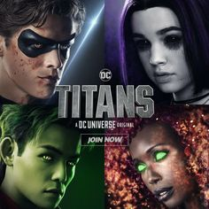 Teen Titans is now a movie I am sobbing 😭😭😭😭😭 Dc Universe, Teen Titans Raven, Teen Titans Go, Deathstroke, Batwoman, Nightwing, Harley Quinn, Titans Tv Series, Conor Leslie