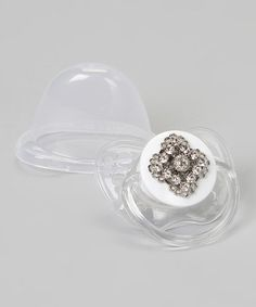 Take a look at this Clear Mini Crystal Pacifier by Crystal Dream on #zulily today!