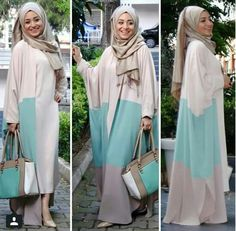 Ramadan hijab style outfits – Just Trendy Girls Hijab Look, Hijab Style, Hijab Chic, Islamic Fashion, Muslim Fashion, Modest Fashion, Modest Outfits, Chic Outfits, Fashion Outfits
