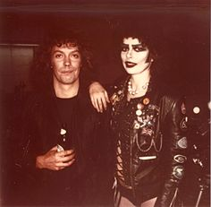 Tim Curry and Dori