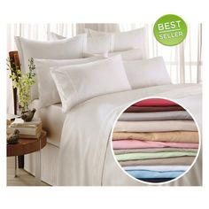 I found this amazing 1600 Series Egyptian Comfort Bed Sheet Set at nomorerack.com for 78% off.