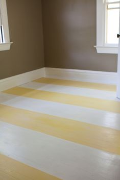 painted striped floors! LOVE! If I had an old character house, this would be top of the list.