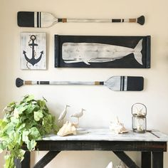 You can enhance the natural beauty of your home with beach house decorating ideas. Coastal Decor like beach art and furniture. Beach Cottage Style, Beach House Decor, Diy Home Decor, Nautical Nursery, Nautical Home, Vintage Nautical, Nursery Art, Nautical Entryway, Coastal Homes