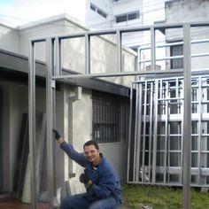 Hice mi casa en Steel Framing y quiero compartirlo - Taringa! Steel Frame House, A Frame House, Steel House, Metal Stud Framing, Steel Framing, Wood Frame Construction, Still Frame, Frame Light, Residential Construction