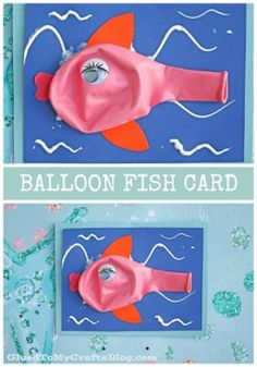 Balloon Fish Card