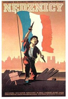 Les Misérables (1934)   Polish Movie Poster. Les Miserables, Poster On, Poster Prints, Polish Movie Posters, Jean Valjean, Information Poster, No One Loves Me, Beautiful Stories, Poster