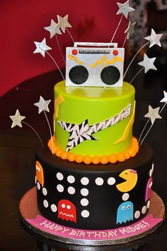 80's Theme Cake by Designer Cakes By April, via Flickr