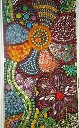 Mosaic Stepping Stones on Pinterest