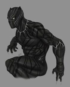Black Panther-The King of Wakanda by SaifuddinDayana