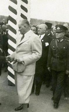 Atatürk, Trabzon'da. 10 Haziran 1937