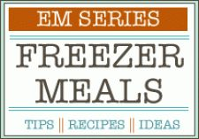 Giant list with recipes of freezer meals (80+)