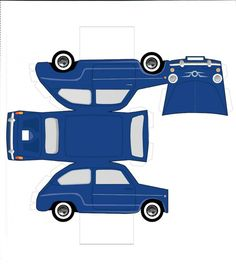 Printable art toys drawings old cars Paper Model Car, Paper Car, Paper Models, Foam Crafts, Preschool Crafts, Paper Crafts, Cardboard Toys, Paper Toys, Pop Can Crafts