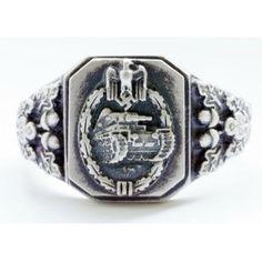 WW II German silver ring