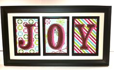 Made with a Cricut. I was thinking of doing something like this for our powder roomwith a changeable art frame.  For Christmas, NOEL...