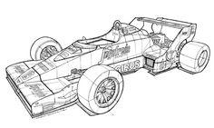 Toleman Hart TG183 1983 #19 Ayrton Senna