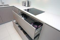 120cm pan drawers