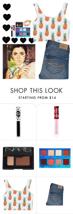 """Marina and the Diamonds"" by katykitty5397 ❤ liked on Polyvore featuring Lime Crime, NARS Cosmetics, Abercrombie & Fitch, Accessory PLAYS and styleicon"