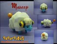 Paperpokés- Pokémon Papercrafts: MAREEP
