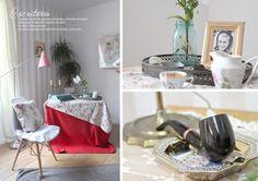 El estilismo de una campiña inglesa hace 50 años y su making of - Deco & Living Table Decorations, Furniture, Home Decor, Campinas, Outfits, Blue Prints, Colors, Style, Decoration Home