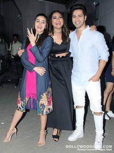 What happened when Alia Bhatt and Varun Dhawan bumped into Sonakshi Sinha? #FansnStars