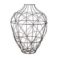 Dimond Home 594014 Russet Wire Vessel - Large Brown Home Decor Accents Vases