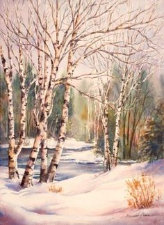 Marianne Broome   WATERCOLOR                                                                                                                                                     More