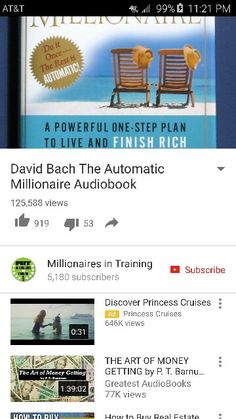 253 best books ebooks audiobooks tv series movies etc images the automatic millionaire by david bach httpsyoutu fandeluxe Image collections