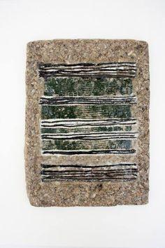 "Saatchi Art Artist Maia S Oprea; Painting, ""LINES TABLET #7"" #art"