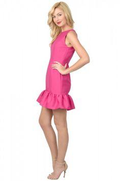 Lilly Dress Fuchsia 2