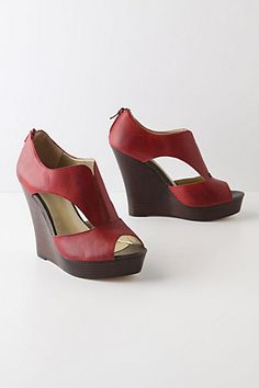Funky, Hot, Red Shoes. Nothing NOT to like about them.