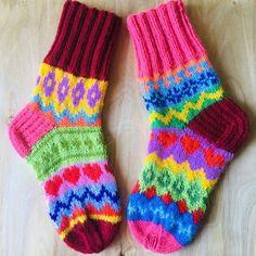 Knitting Socks, Hand Knitting, Knit Socks, Crochet Toys, Knit Crochet, Warm Socks, Odd Socks, Fair Isle Knitting Patterns, Quirky Fashion