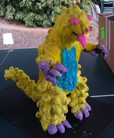 """Peepzilla"" by D. Brace of Issaquah."