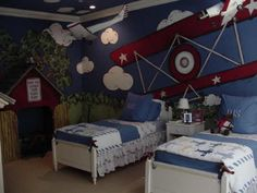 Airplane theme toddler bedroom - Home Decorating & Design Forum - GardenWeb