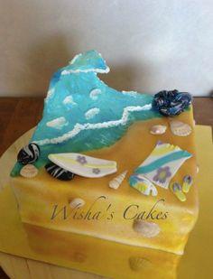 Surf Cake | Wisha's Cakes