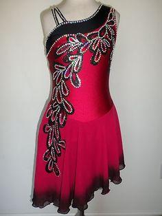 Customized New Ice Dance Skating Dress | eBay