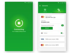 Android E-Wallet concept by Mike Malewicz
