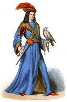 """""""Courtier of King René of Provence in 14th century"""""""