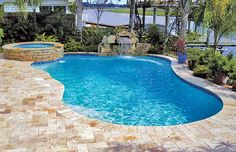 Free-Form Pools - Blue Haven Custom Swimming Pool and Spa Builders