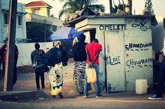 Fast Food stand, Ngor, Sénégal.