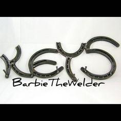 Key holder Horseshoe word Rustic decor art rack by BarbieTheWelder