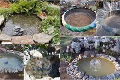 Como Hacer Un Estanque Reutilizando Un Neumático Stepping Stones, Projects To Try, Outdoor Decor, Home Decor, Ideas, Inuyasha, Loft, Anime, Gardens