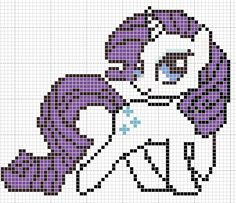 MLP Rarity pattern by Sailor-Phantom on deviantart