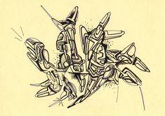 #abstractart #black #blackmarker #drawing #art #felt #handdrawing #indianink #marker #pen #pilot #spacecraft #stabilo #uni #felttippen #futuristic #mitsubishi #scifi #vessel // 2018-024