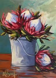 Shop Carla Bosch Artist on Fine Art Portfolio Simple Oil Painting, Plant Painting, Gouache Painting, Oil Painting Abstract, Painting Flowers, Flower Paintings, Canvas Paintings, Botanical Wall Art, Botanical Drawings
