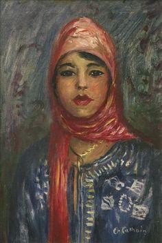 Charles Camoin - Portrait de Zora